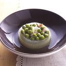 グリーンピースと玉ねぎの含め煮