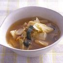 豆腐とキムチのスープ