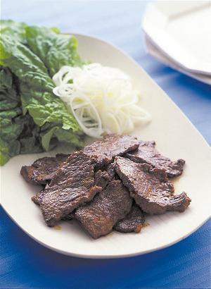 韓国風辛みそ焼き肉