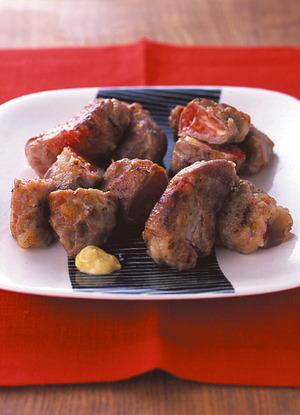 トマトの豚肉巻きガーリック風味