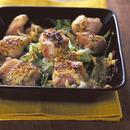 チキンとキャベツのマスタードマヨ焼き