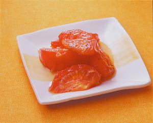 トマトのにんにく炒め