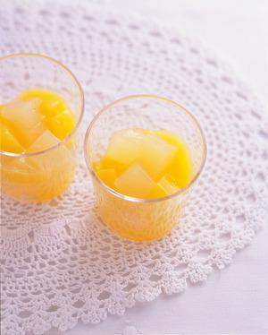 オレンジ&グレープフルーツゼリー