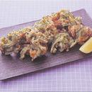 にがうりと豚肉の天ぷら