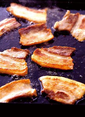 豚バラ焼き