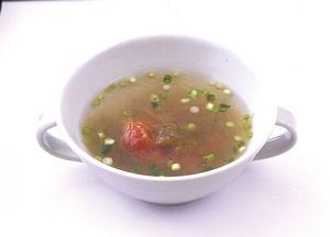 梅とろろスープ