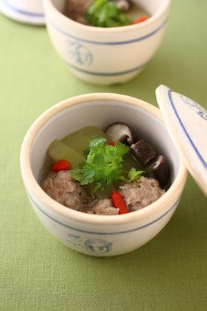 冬瓜肉丸湯(とうがんと肉だんごのスープ)