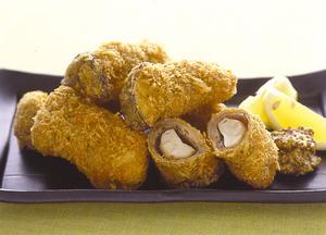 エリンギの豚肉巻きフライ