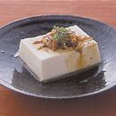 豆腐の薬味だれ