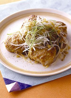 ねぎザー菜バーグ
