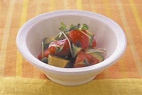トマトとアボカドのわさびじょうゆ