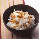 ザー菜と桜えびの混ぜご飯