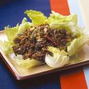 牛ひき肉と野菜のカレー炒め