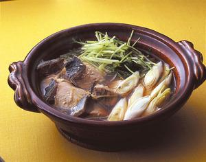 ぶりと水菜のハリハリ鍋風
