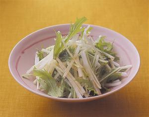 大根と水菜の和風サラダ