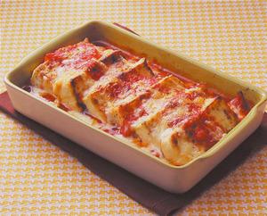 豆腐のトマトチーズ焼き