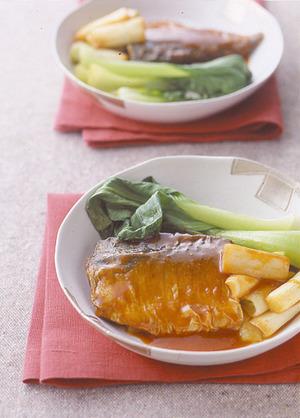 さばの韓国風煮