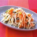 鮭と大根のサラダ