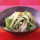 かまぼこと水菜の辛子マヨ
