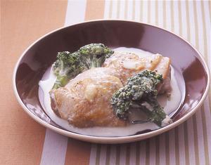 鶏肉のバターミルク煮