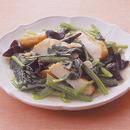 小松菜とさつま揚げの中華炒め