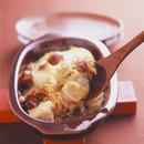 コンビーフと豆腐のオーブン焼き