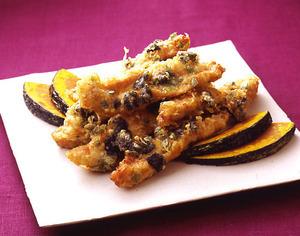 鶏肉の香味天ぷら