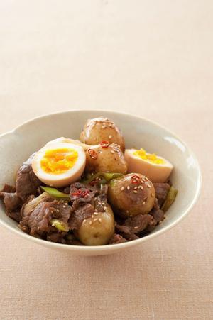 牛肉とベビーポテトのさっと煮