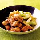 鶏肉とねぎの甘辛煮