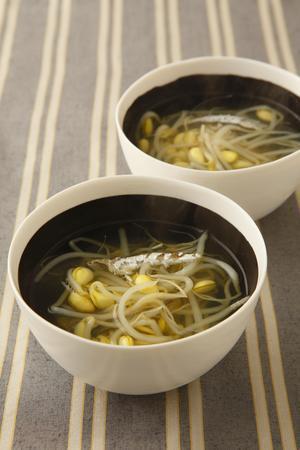 大豆もやしのスープ