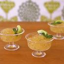 梅酒とミントのクラッシュゼリー