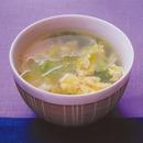 レタスのかきたまスープ