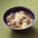 なめこと卵のスープ