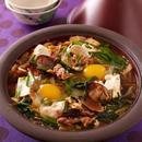 あさりと豆腐のピリ辛鍋