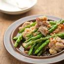 鶏肉といんげんのアーリオオーリオ炒め