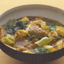 豆腐と肉だんごのカレー煮