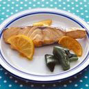 白身魚のレモンしょうゆ焼き