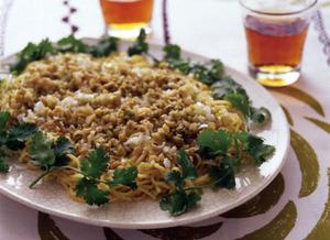 ねぎとザー菜の香り麺