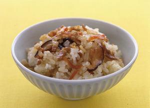 甘辛豚の混ぜご飯
