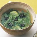 レタスとのりのスープ