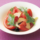 トマトとセロリのマリネ