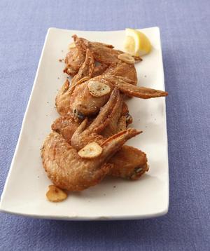 鶏の塩にんにくから揚げ