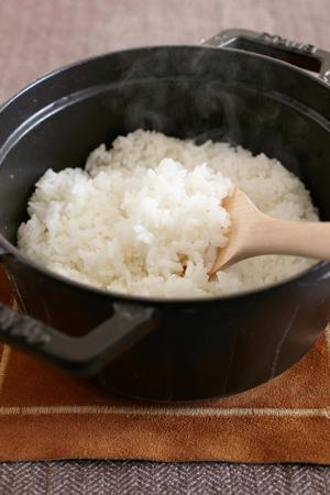 鍋炊きご飯