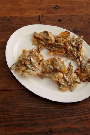 煮干しのカリカリ焼き