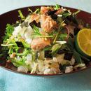 ツナと水菜の混ぜご飯
