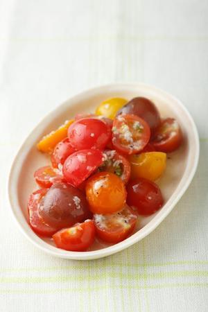 プチトマトの塩麹マリネ