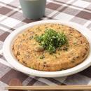 豆腐のふわふわお好み焼き