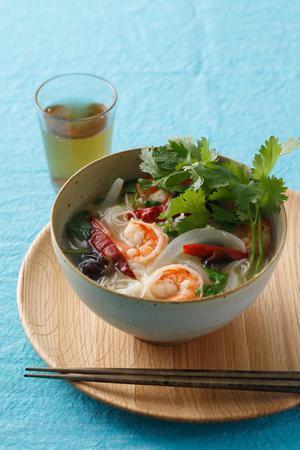 トムヤムクン風温麺