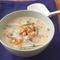 豆乳とにらのチゲ風スープ