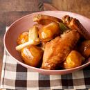 栗と手羽中の中華煮